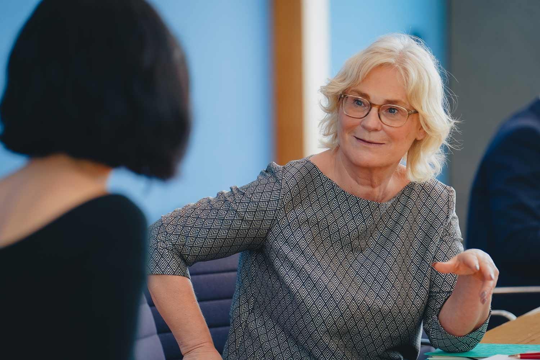 Bundesjustizminsterin Christine Lambrecht